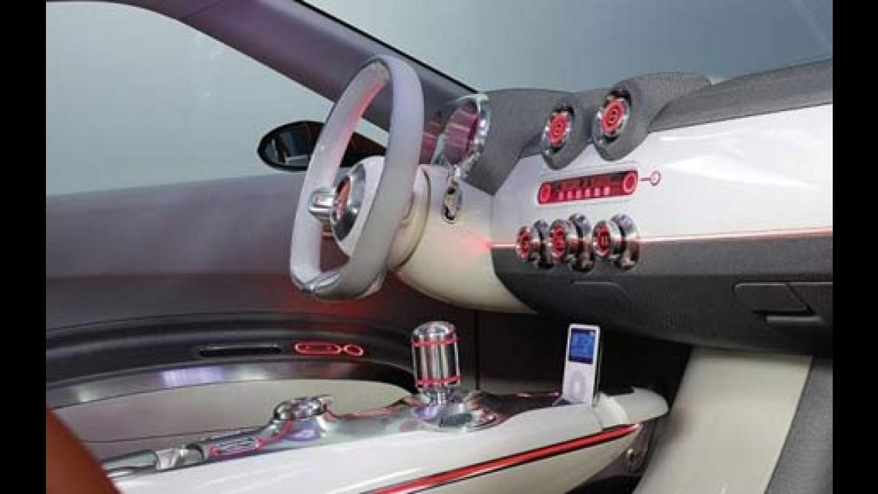 Salão de Frankfurt 2007 - Hyundai Veloster Concept desenvolvido para mercado jovem