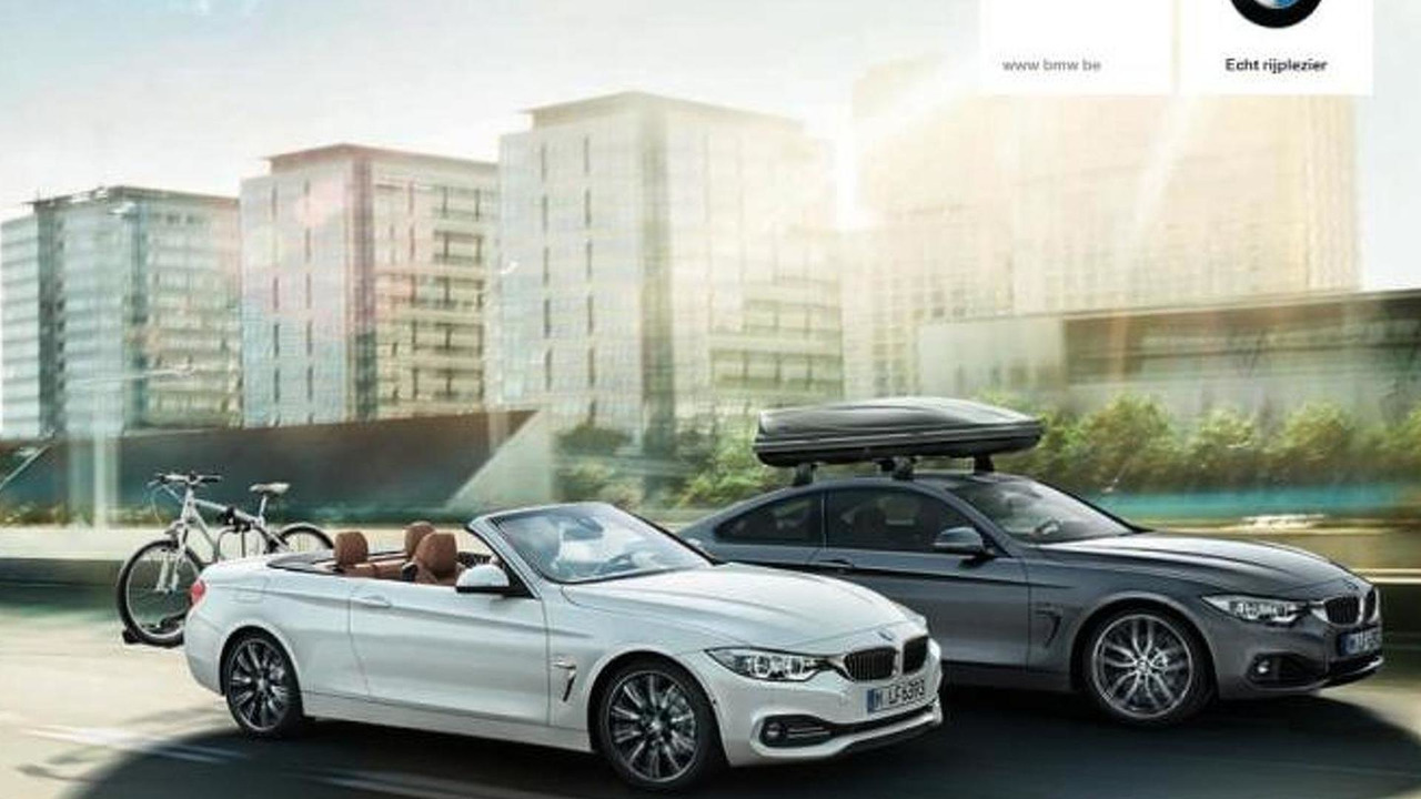 2014 BMW 4-series convertible leaked image