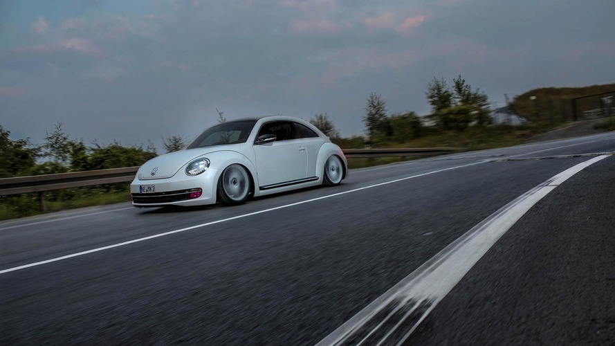 Volkswagen Beetle slammed to the road by MR Car Design