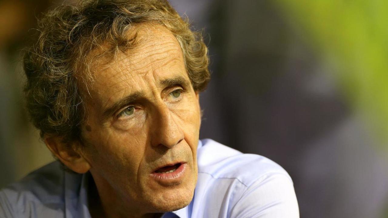 Alain Prost 21.09.2013 Singapore Grand Prix