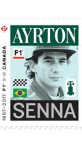 Le timbre Ayrton Senna