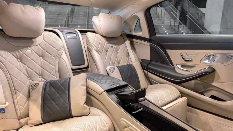 2018 Mercedes-Maybach S-Serisi