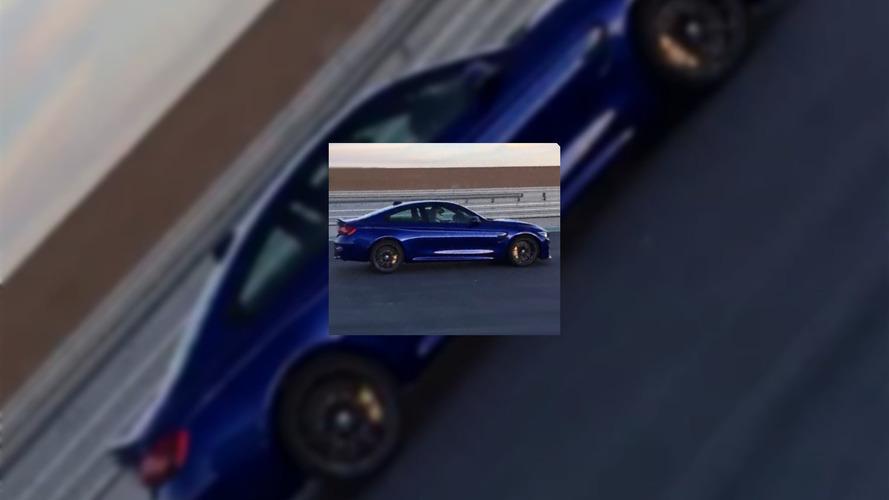 BMW M4 CS casus fotoğrafları