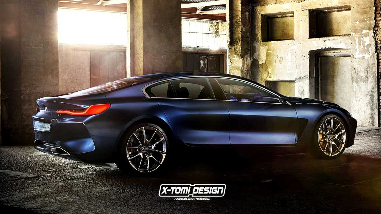 BMW 8 Series Gran Coupe render