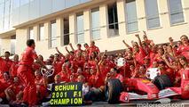 Subasta Ferrari F2001 Michael Schumacher