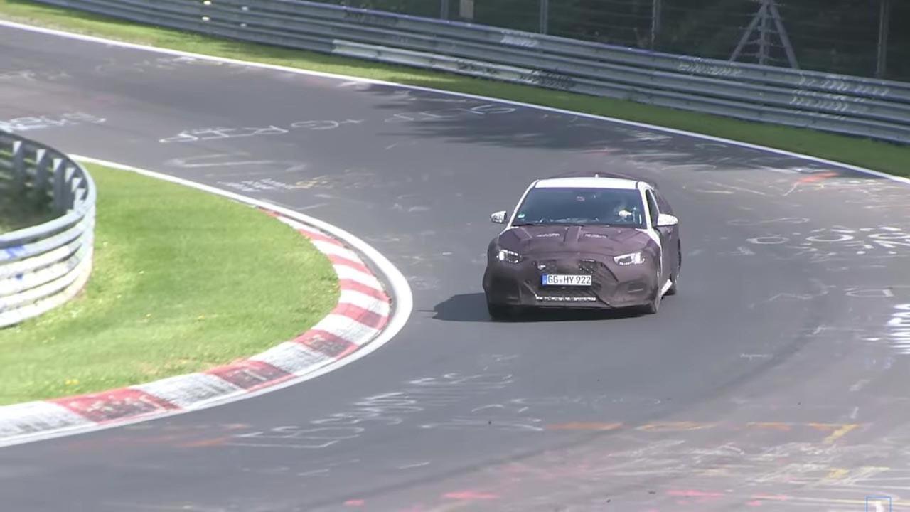 Hyundai Veloster N Spy Video