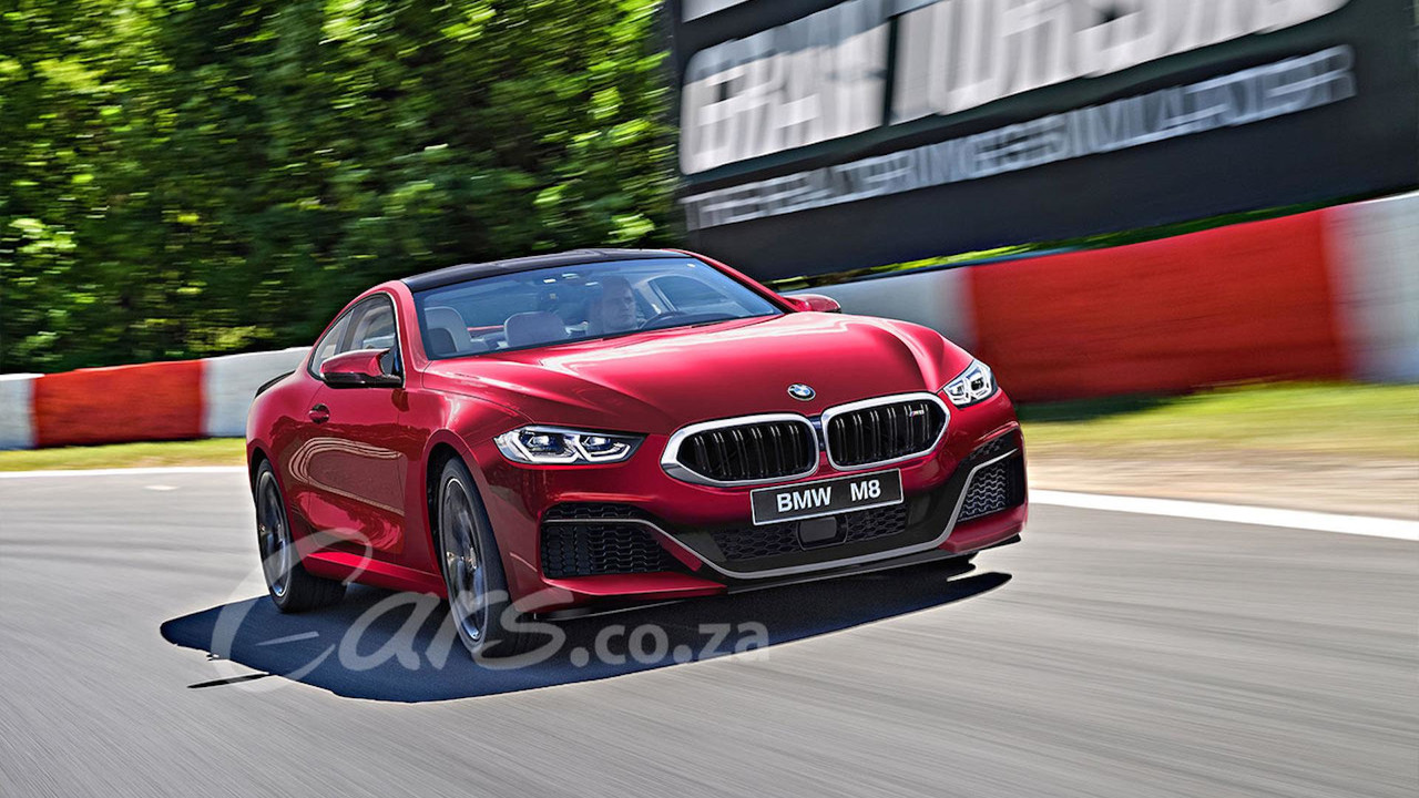 BMW M8 Rendering