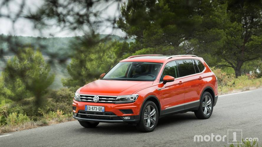 primera prueba volkswagen tiguan allspace 2018 con siete plazas. Black Bedroom Furniture Sets. Home Design Ideas