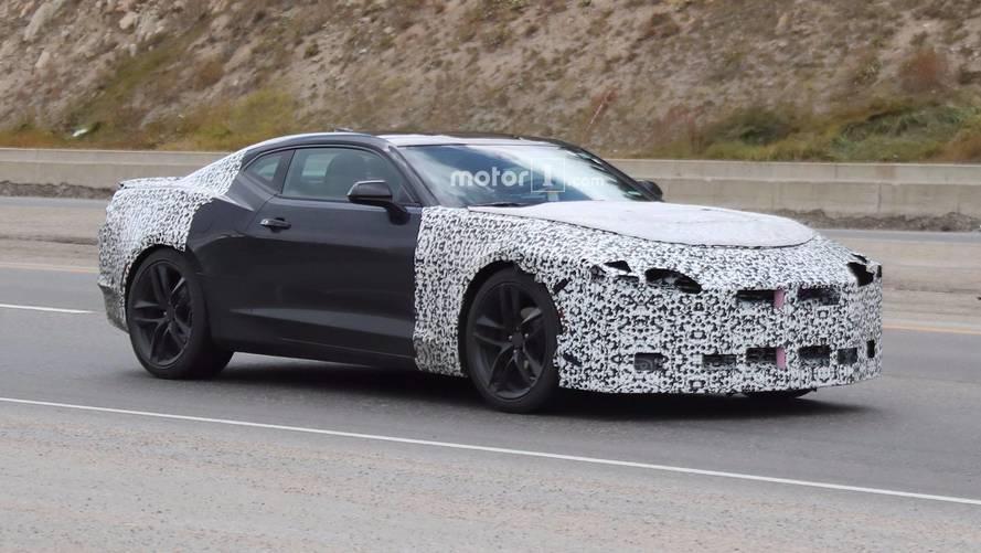 2019 Chevy Camaro Spied Shedding Some Camo