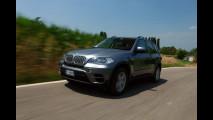 BMW X5 restyling su strada