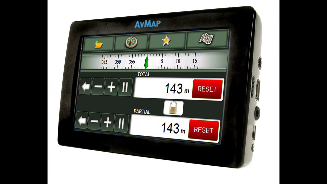 AvMap Geosat 4x4 Crossover