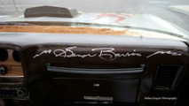George Barris autographed the dash