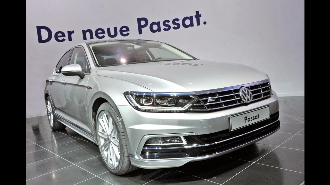 Nuova Volkswagen Passat dal vivo