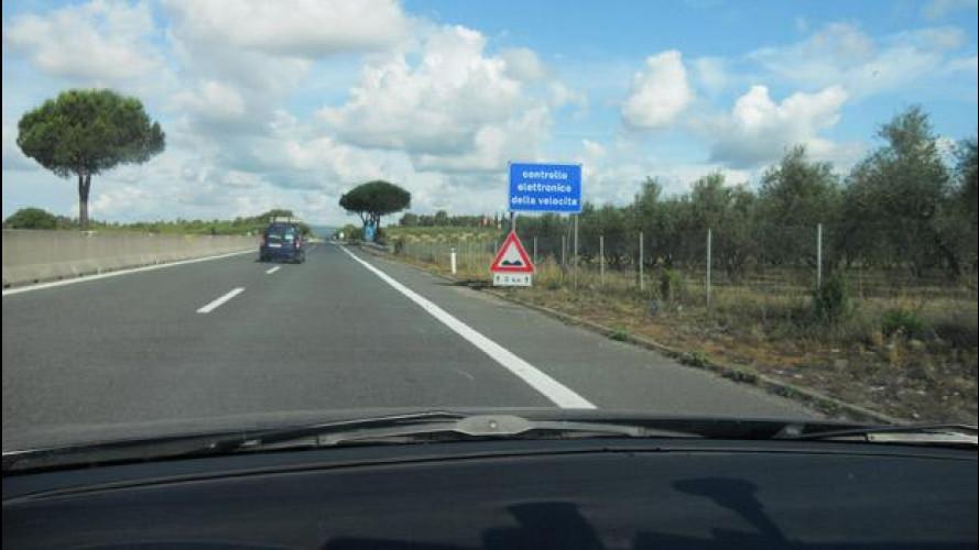 Autovelox in autostrada col limite di 60 km/h: tu rallenti e il Tir ti schiaccia