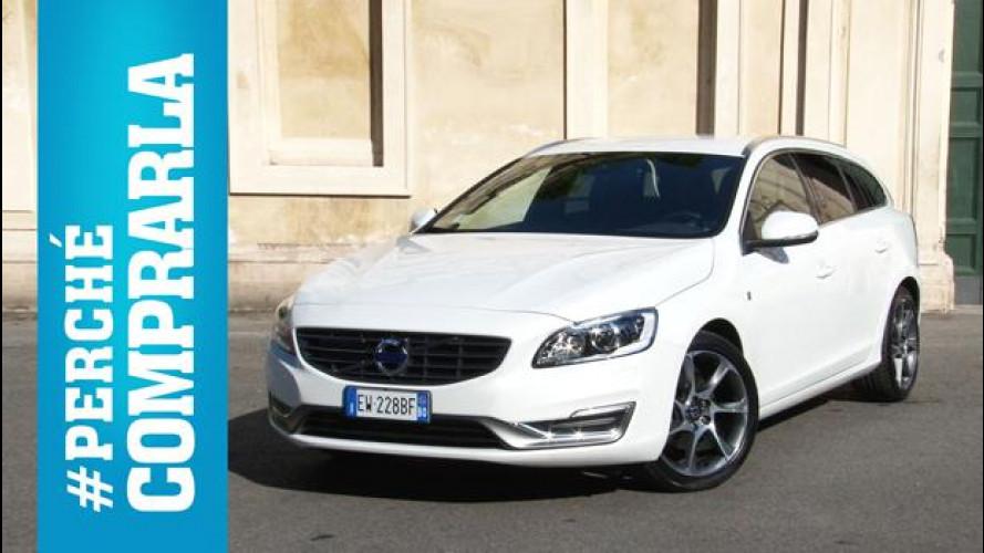 Volvo V60, perché comprarla... e perché no [VIDEO]