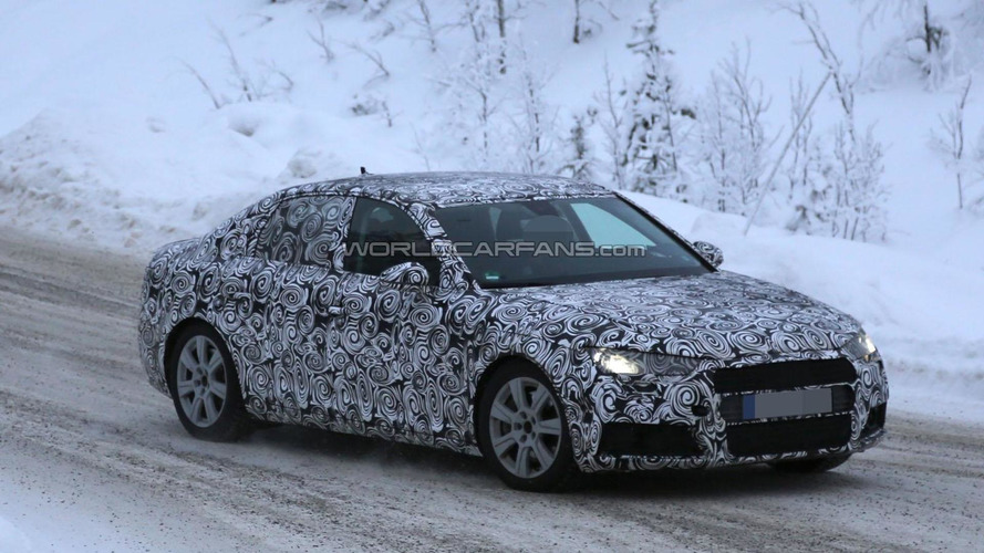 2016 Audi A4 spied undergoing cold weather testing
