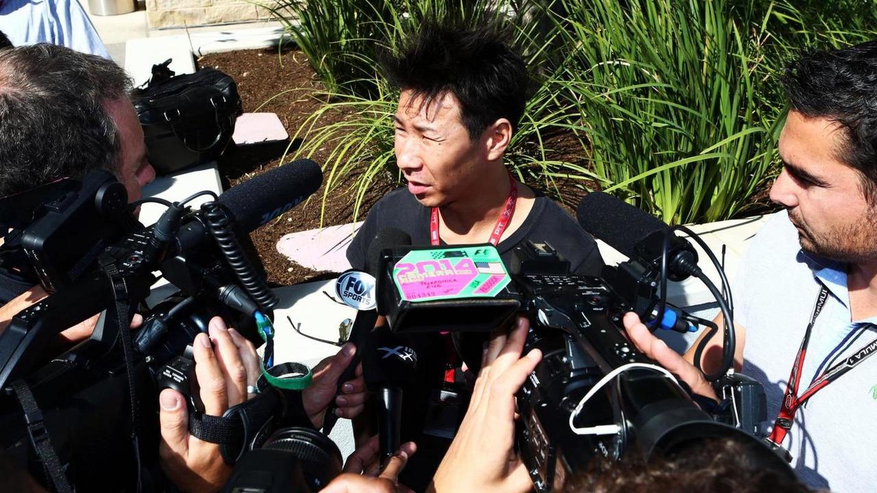 Kamui Kobayashi 31.10.2014 United States Grand Prix, Austin, Texas, USA