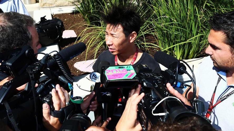 Kobayashi in Austin to keep F1 dream alive