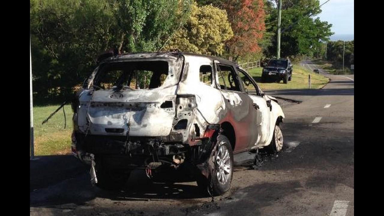 Ford diz que Everest que pegou fogo na Austrália é caso isolado