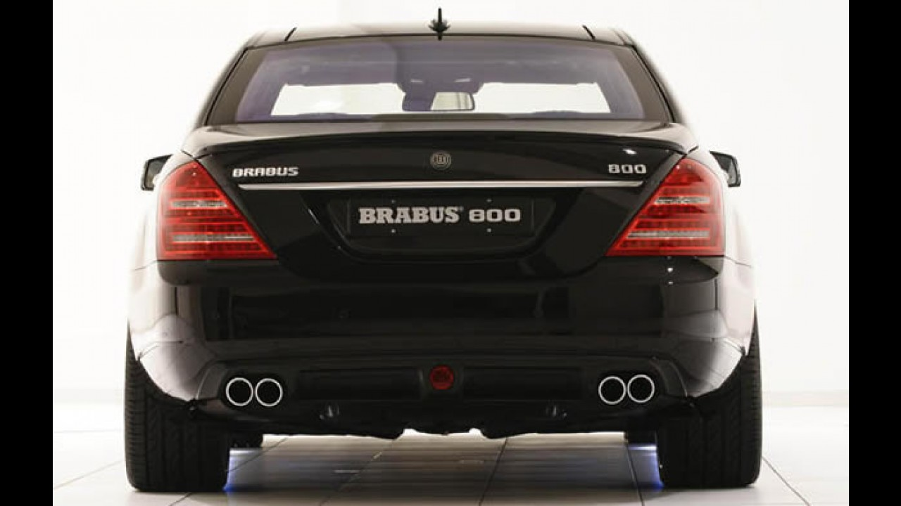 Mercedes-Benz Classe S Brabus iBusiness 2.0: o escritório ambulante mais rápido do mundo