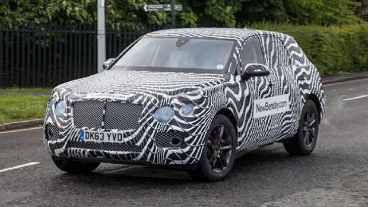 Bentley confirma batismo Bentayga para inédito SUV que chega em 2016