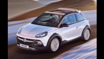 Opel Adam Rocks tem visual aventureiro e estreia novo motor 1.0 três cilindros turbo