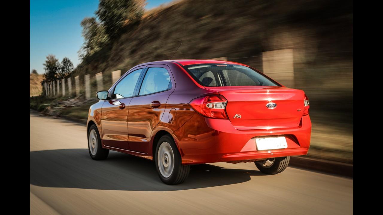 Novo Ka empurra vendas da Ford para cima, apesar de queda do mercado