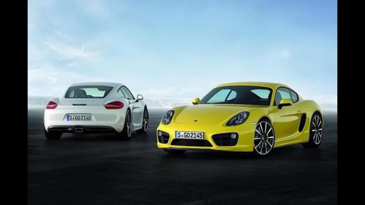 Novo Porsche Cayman: foto oficial vaza antes da apresentação