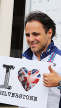 Felipe Massa, Williams loves Silverstone
