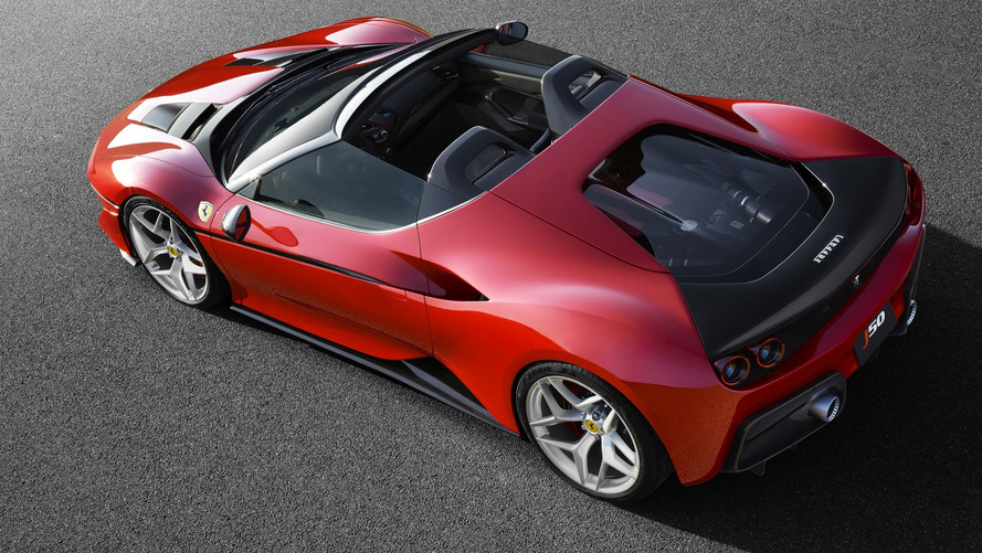 Ferrari marks 50 years in Japan with gorgeous J50