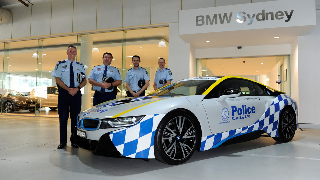 BMW i8 for Rose Bay Police