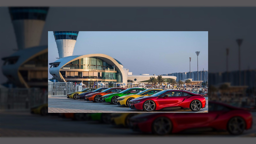 Abu Dhabi dealer creates these eye-searing BMW i8s