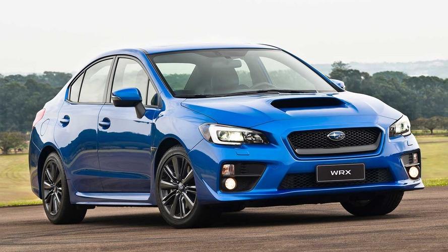 Subaru WRX é oferecido com taxa zero para celebrar aumento nas vendas