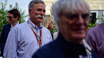 Chase Carey, Formula One Group Chairman and Bernie Ecclestone