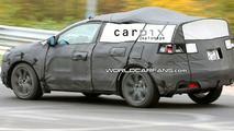 New Acura Crossover Spied on Nürburgring