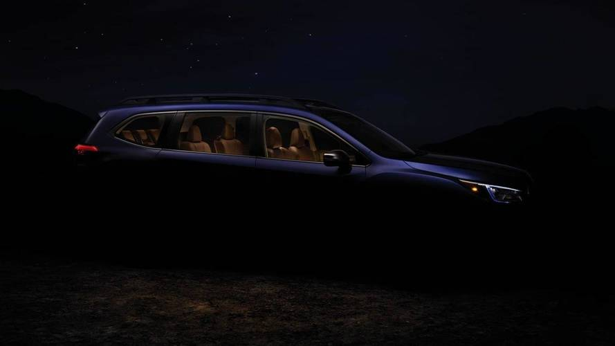Subaru Teases Ascent's Big Body Ahead Of LA Debut