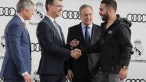 Audis given to Real Madrid players