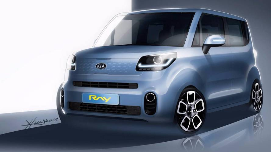 Kia Ray Teaser Suggests City Car Will Still Be Cute After Update