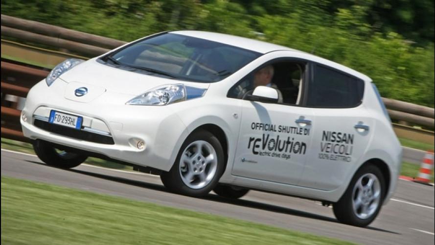 rEVolution, le auto in prova nell'area test drive