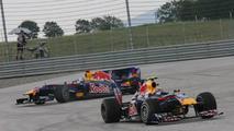 Vettel not taking blame for Webber crash