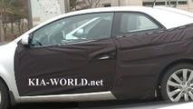 Kia Forte/Spectra Coupe Spy Photo
