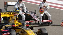 Bruno Senna (BRA), Hispania Racing F1 Team, Karun Chandhok (IND), Hispania Racing F1 Team, Bahrain Grand Prix, 12.03.2010 Sakhir, Bahrain