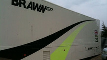 USF1 Brawn GP trailer trucks for sale on eBay - 800 - 12.04.2010