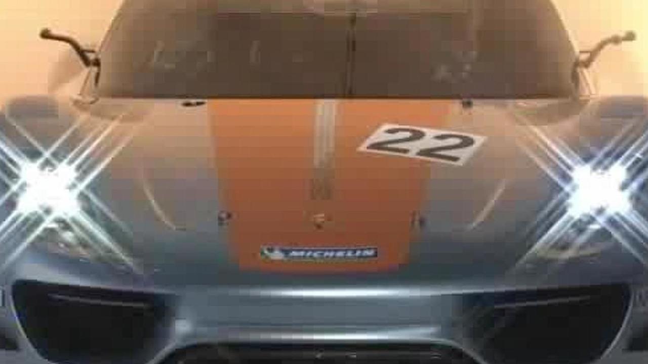 Porsche 918 RSR live in Detroit, 575, 10.01.2011