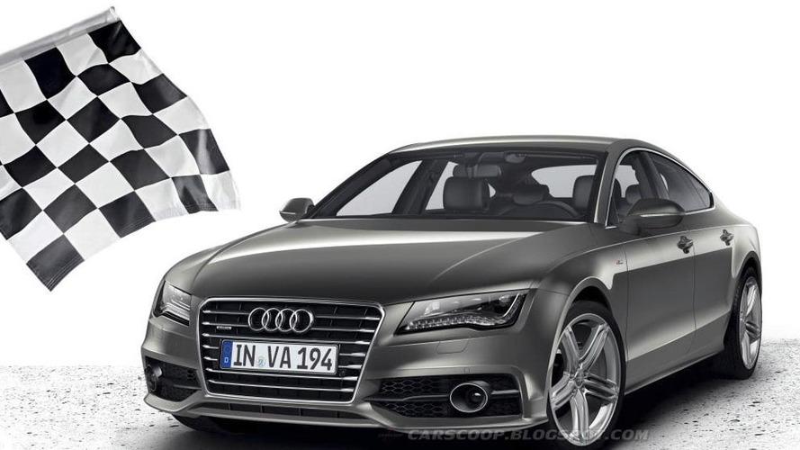 Audi A7 Sportback S-Line: First photos, details surface