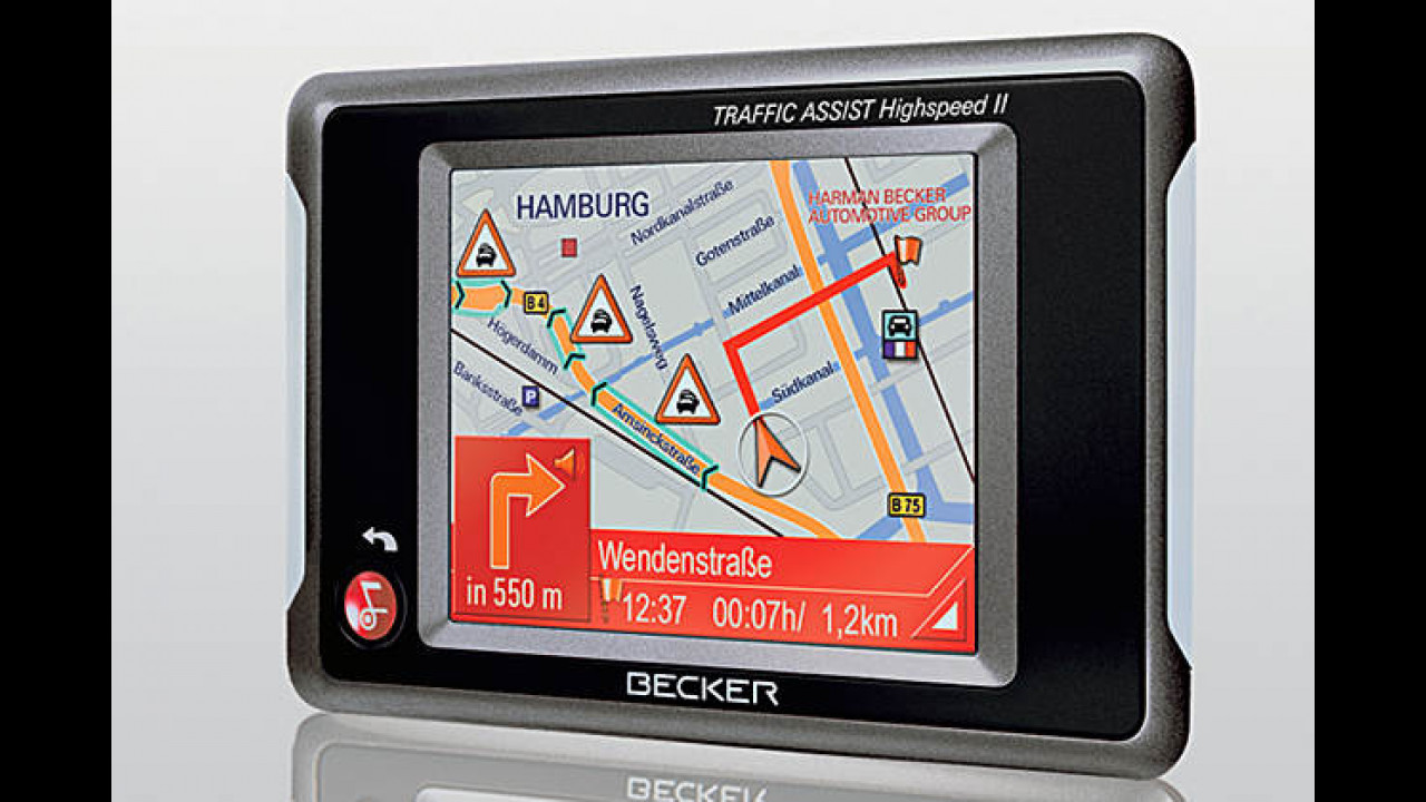 Becker Traffic Assist Highspeed II