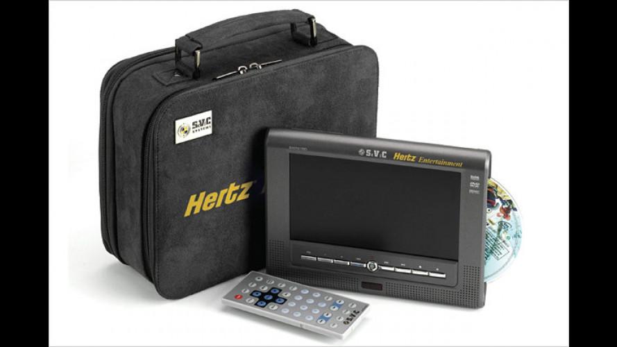 Neue Geschäftsidee: Multimedia vom Autovermieter Hertz