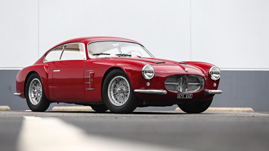 Ferrari ve Maserati klasikleri açık arttırmada 25 milyon $'ı görebilir