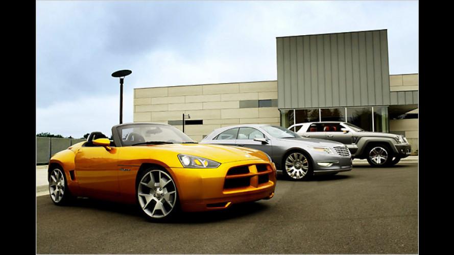 Chrysler baut seit zwanzig Jahren moderne Concept-Cars