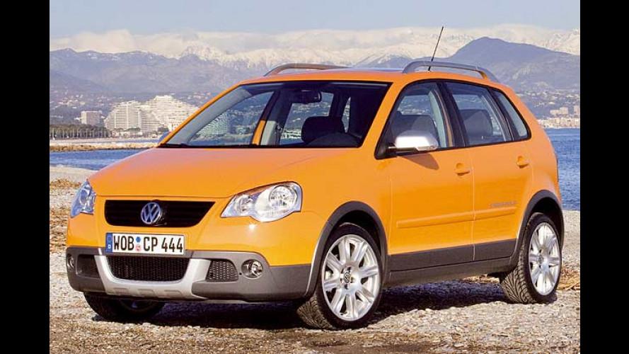 VW CrossPolo: Kleiner Wagen mit großem Auftritt
